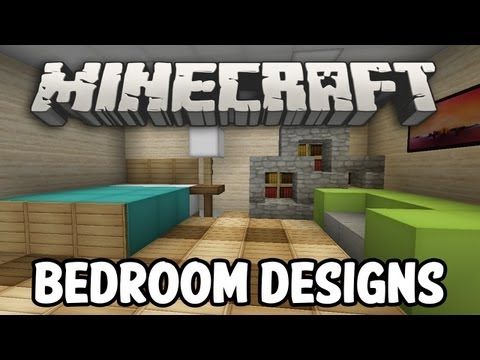 Minecraft Interior Design - Bedroom Edition