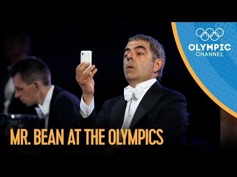Image of London 2012  - Opening Ceremony - Rowan Atkinson  (Olympic Games)