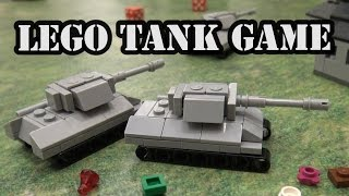 LEGO WWII Micro Tank Battle Combat Game by Brickmania