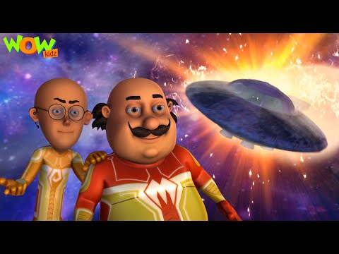 Motu Patlu Vs Supervillian From Mars | New MOVIE | Funny Animated Movie | Wow Kidz