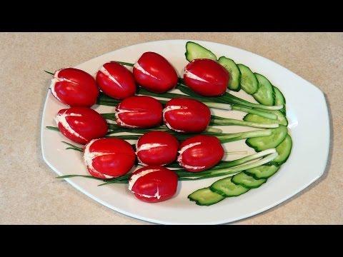 Оригинальные салаты просто и вкусно с фото