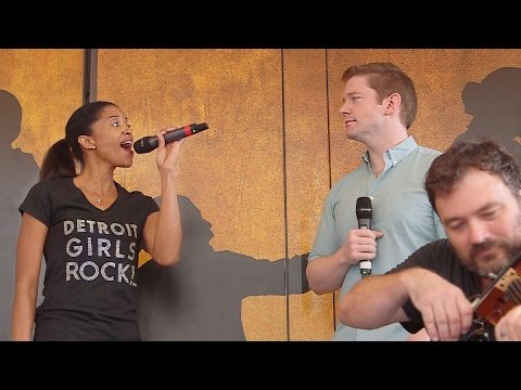 "Hamilton's Final #Ham4Ham! Renée Elise Goldsberry Sings Cut Song ""Congratulations"""