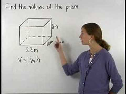 Volume of a Prism Video