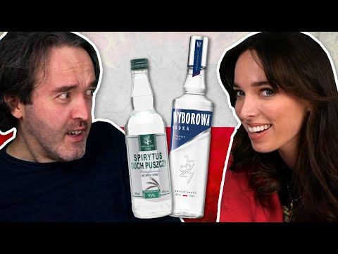 Irish People Try More Polish Alcohol