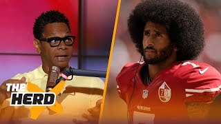 "Eric Davis joins Doug Gottlieb to discuss if Mike Vick needed to apologize to Colin Kaepernick and the O.J. Simpson parole hearing.SUBSCRIBE to get all the latest content from The Herd: http://foxs.pt/SubscribeTHEHERD  ►Watch the latest content from The Herd: http://foxs.pt/LatestOnTheHerd ►Watch the latest content from Kristine Leahy: http://foxs.pt/LeahyOnHerd ►Watch our favorite content on ""Best of The Herd"": http://foxs.pt/BestOnTheHerd ►UNDISPUTED's YouTube channel: http://foxs.pt/SubscribeUNDISPUTED ►Speak for Yourself's YouTube channel: http://foxs.pt/SubscribeSPEAKFORYOURSELF See more from THE HERD: http://foxs.pt/THEHERDFoxSports Like THE HERD on Facebook: http://foxs.pt/THEHERDFacebook Follow THE HERD on Twitter: http://foxs.pt/THEHERDTwitter Follow THE HERD on Instagram: http://foxs.pt/THEHERDInstagram Follow Colin Cowherd on Twitter: http://foxs.pt/ColinCowherdTwitter Follow Kristine Leahy on Twitter: http://foxs.pt/KristineLeahyTwitter  About The Herd with Colin Cowherd:The Herd with Colin Cowherd is a three-hour sports television and radio show on FS1 and iHeartRadio. Every day, Colin will give you his authentic, unfiltered opinion on the day's biggest sports topics, and co-host Kristine Leahy will bring you the latest breaking sports news.Did Mike Vick need to apologize to Colin Kaepernick over hair comments? Eric Davis reacts  THE HERDhttps://youtu.be/CxAIsF0bLcgThe Herd with Colin Cowherdhttps://www.youtube.com/c/colincowherd"