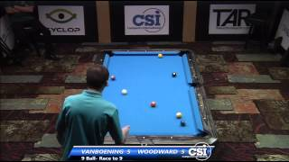 2014 CSI USBTC 9 Ball: Shane Van Boening Vs Skyler Woodward (Audio Issue Till 12:00)