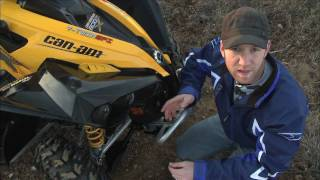 1. DIrt Trax Test Rides Can-Am Renegade  X