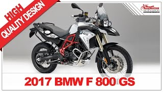 9. 2017 BMW F800GS Price & Spec