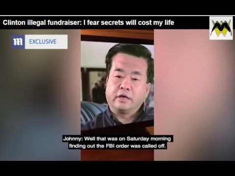 Insurance Video 'In Case Of His Death' Clintons Did It-Johnny Chung (видео)