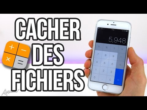 Comment cacher des fichiers dans l'App Calculatrice sur iPhone ! 🔐