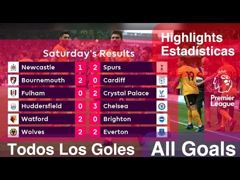 Goles & Estadísticas | Jornada 1| All Goals & Highlights | Premier League | 11/08/2018 HD