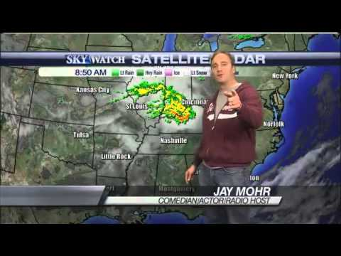 Comedian Jay Mohr Takes Over the Weather Forecast on Tennessee Mornings