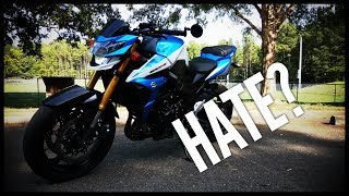 8. Suzuki GSX-S750 Cons & Comparison