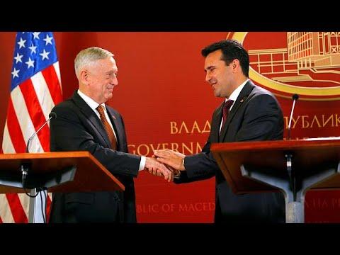 Σκόπια: O υπ. Άμυνας των ΗΠΑ προειδοποιεί για ρωσική παρέμβαση στο δημοψήφισμα…