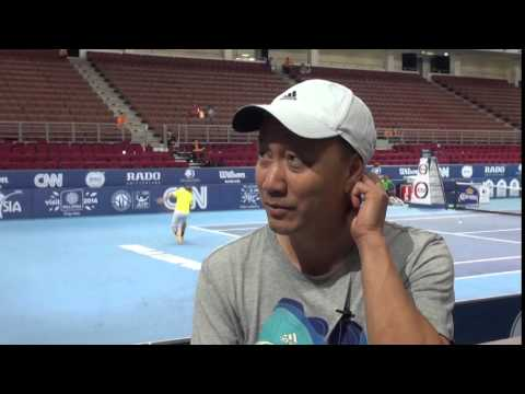 MICHAEL CHANG - FAMILY MAN, PLAYER, COACH AND DEVOUT CHRISTIAN