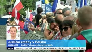 Justiční změny v Polsku