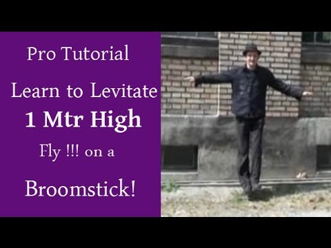How to Levitate Tutorial Learn magic tricks !!!