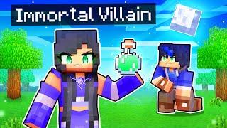 Taking OVER Minecraft as an IMMORTAL Villain!