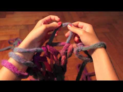 Как вязать нитку на руку