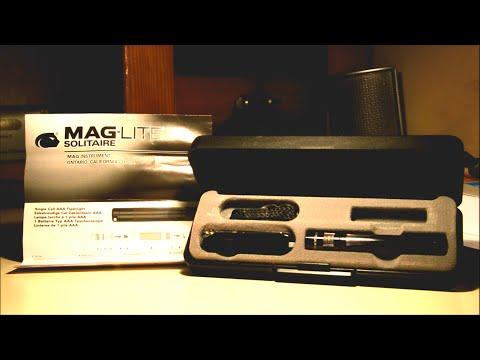 Maglite Classic Combo - Victorinox Swiss Army Knife and Mini Maglite AAA Flashlight Unboxing