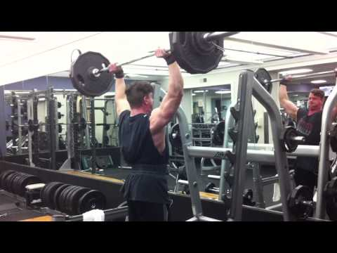 Overhead Press 250 x 1 (3 sets)