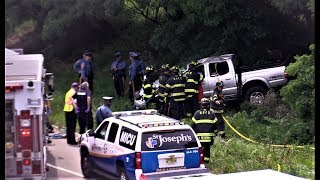 Woodland Park NJ Accident with Entrapment and Rollover  Route 80 West near Squirrelwood Rd July 10th 2017