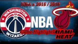 Washington Wizards vs Miami Heat - 05.10. Game Highlights - NBA PRE-SEASON 2018-19