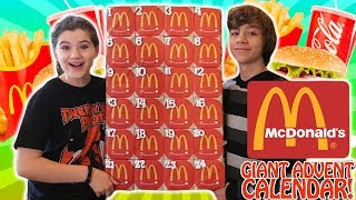 Video Giant McDonalds Advent Calendar 2017! MP3, 3GP, MP4, WEBM, AVI, FLV April 2018