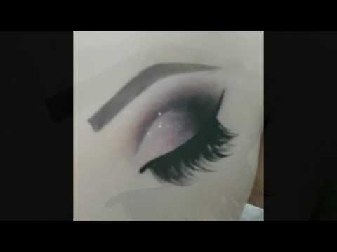 Maquiagem - COMO FAZER CROQUI DE MÃO