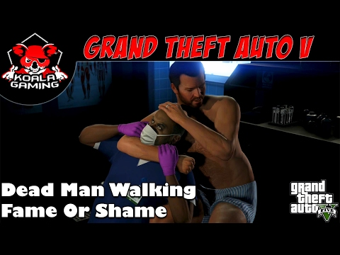 Tır Kullanmak Ve Polis Merkezinden Kaçmak-Dead Man Walking-Fame Or Shame-Grand Theft Auto V(GTA 5)