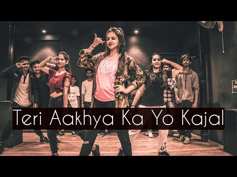 Video Teri Aakhya Ka Yo Kajal | ONE TAKE | Tejas Dhoke Choreography | Dancefit Live download in MP3, 3GP, MP4, WEBM, AVI, FLV January 2017