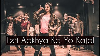 Video Teri Aakhya Ka Yo Kajal | ONE TAKE | Tejas Dhoke Choreography | Dancefit Live MP3, 3GP, MP4, WEBM, AVI, FLV Agustus 2018