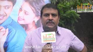 Ezhil at Vellaikaara Durai Movie Team Interview