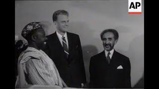 (Billy Graham) Haile Selassie I: One Race, One Gospel, One Task