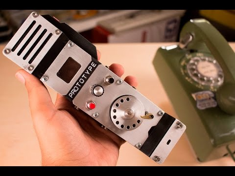 Man Builds Prototype For A Rotary Cellphone