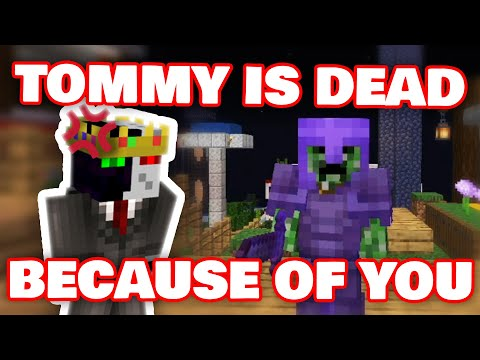 Ranboo BLAMES Awesamdude For Tommy's DEATH Then REALIZES He Is The One TO BLAME! DREAM SMP