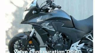 8. 2014 Honda CB 500X ABS - Specs