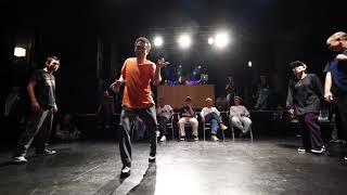 EXmatic. (Ricky & Funky P) vs Boogie GUSh (Takuya & キャメル) – WDC 2019 KINKI POP FINAL