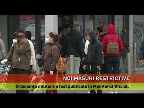 Ordonanța militară cu noile măsuri, publicată în Monitorul Oficial