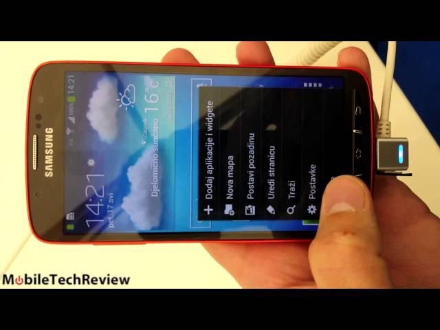 Samsung Galaxy S4 Active Sneak Peek