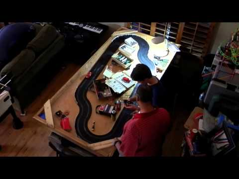 race track, slot car 30:1 26:1