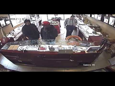 Attempted Robbery And Stabbing At Vana Watch And Jewelry In South Pasadena On 12-14-18