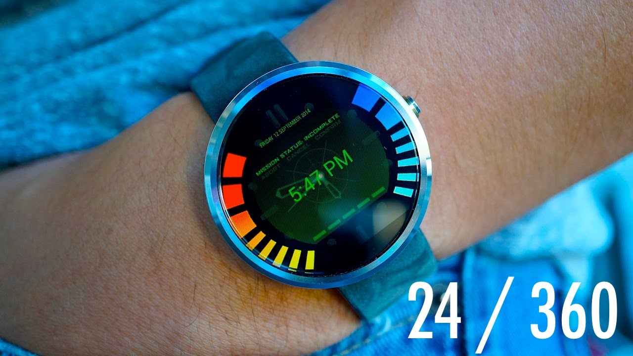 Descargar 24 hours with the Moto 360 para Celular  #Android