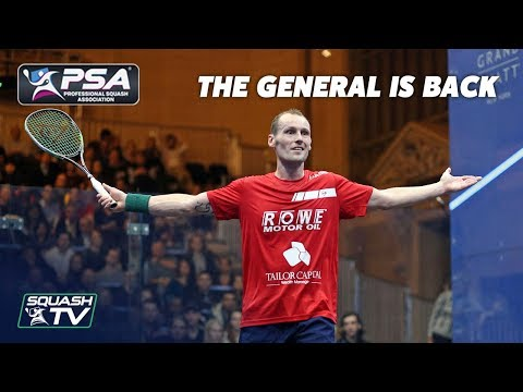 Squash: Gregory Gaultier - The General is Back