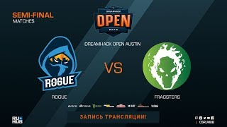 Rogue vs Fragsters - DreamHack Open Austin 2018 - map3 - de_dust2 [CrystalMay, Anishared]