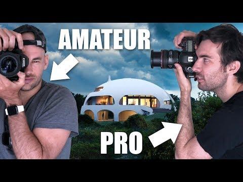 """Amateur Vs Pro Architecture Photographer Shoot The """"DOME HOUSE"""""""