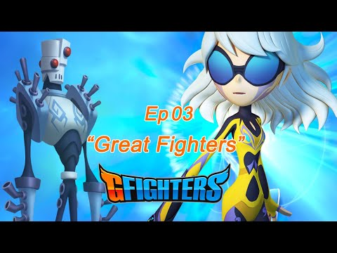 """GFighters 3rd """"Great Fighters"""" [English Dub Episode Season 1]"""