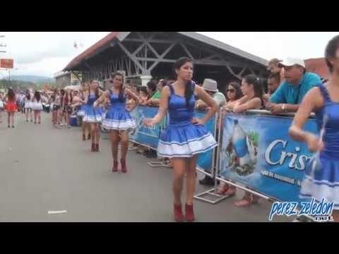 bastoneras - Video de las delegaciones de bastoneras que participaron en el desfile del 15 de setiembre 2014 en Pérez Zeledón. Vea un video general del desfile aquí: http...