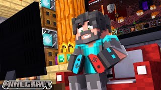 SWITCHING BACK TO MINECRAFT!!