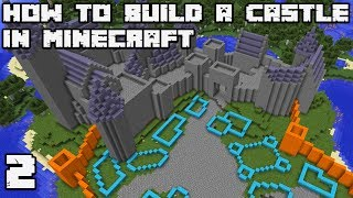 How to Build an Awesome Castle in Minecraft 1.13 Vanilla [WORLD DOWNLOAD] #2